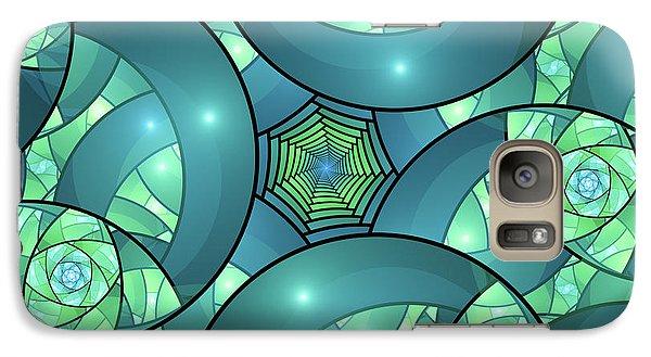 Galaxy Case featuring the digital art Art Deco by Gabiw Art