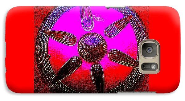 Galaxy Case featuring the photograph Art Deco Mandala by Peter Gumaer Ogden