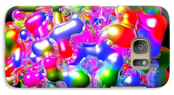 Galaxy Case featuring the digital art Art In Coalescence... by Tim Fillingim