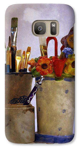 Galaxy Case featuring the digital art Art Is Good For The Soul by Lena Wilhite