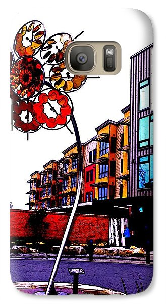 Galaxy Case featuring the photograph Art On The Ave by Sadie Reneau