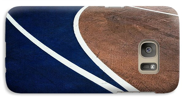 Galaxy Case featuring the photograph Art On The Basketball Court  11 by Gary Slawsky