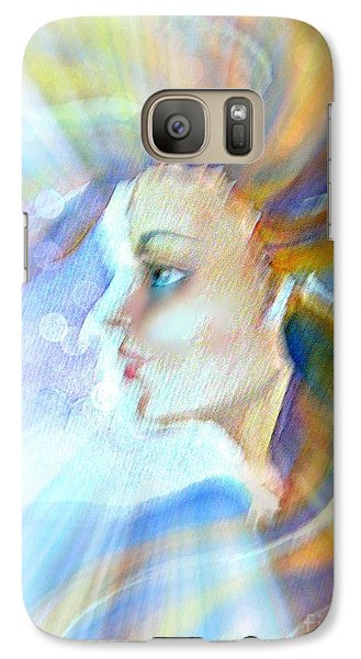 Galaxy Case featuring the painting Artemis by Leanne Seymour