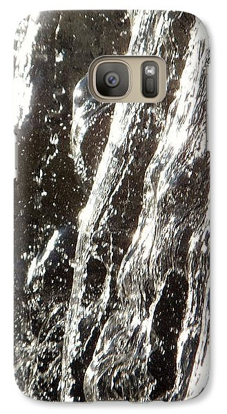 Galaxy S7 Case featuring the photograph Artificial Waterfall by Marc Philippe Joly