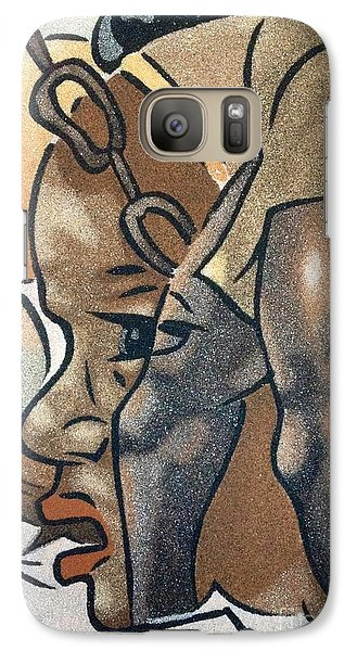 Galaxy Case featuring the photograph Artists Of Oasis  by Fania Simon
