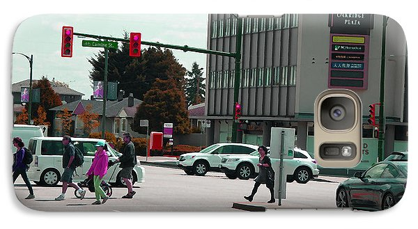 Galaxy Case featuring the photograph Oakridge Intersection by Laurie Tsemak