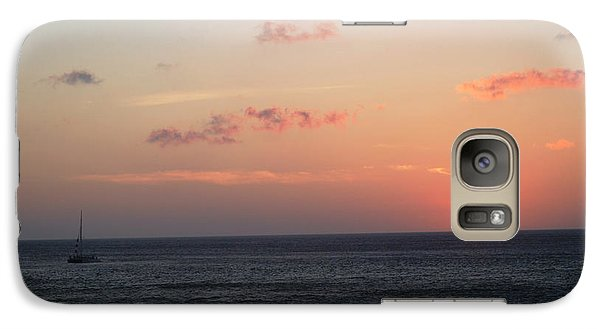 Galaxy Case featuring the photograph Aruba Sunset by Living Color Photography Lorraine Lynch