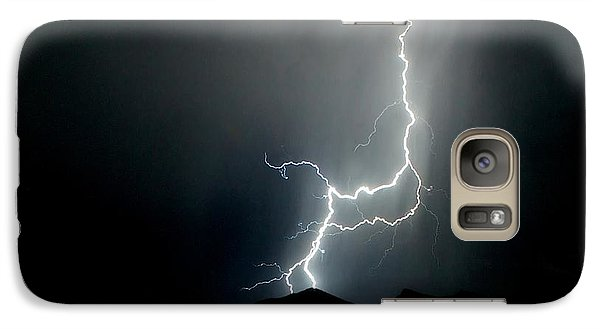 Galaxy Case featuring the photograph As Dark As The Night by Michael Rogers