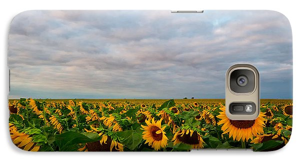 Galaxy Case featuring the photograph As Far As The Eye Can See by Ronda Kimbrow