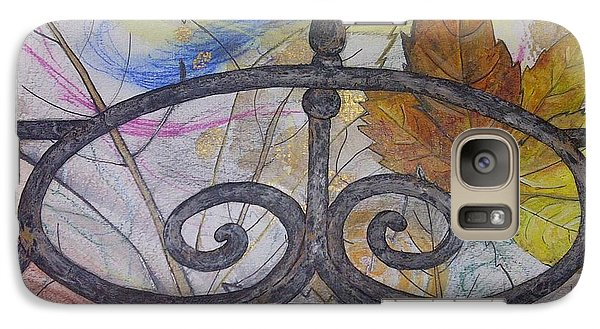 Galaxy Case featuring the mixed media As It Comes 2 by Malinda  Prudhomme
