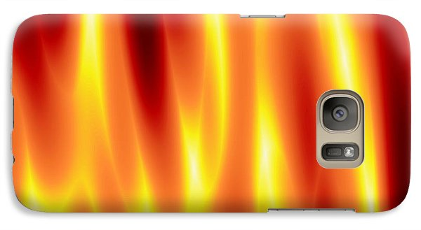 Galaxy Case featuring the digital art As Seen In Hell by Jeff Iverson