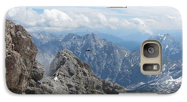 Galaxy Case featuring the photograph As The Crow Flies by Pema Hou