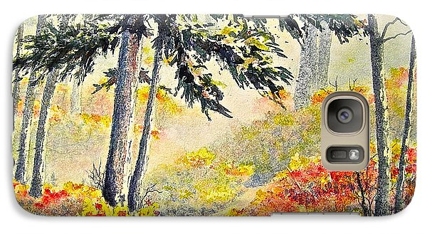 Galaxy Case featuring the painting As The Fog Lifts by Carolyn Rosenberger