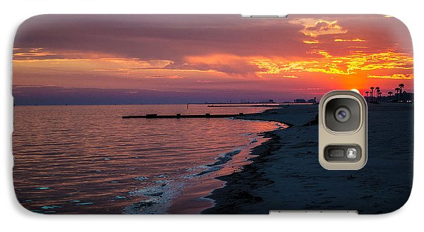 Galaxy Case featuring the photograph As The Sun Sets by Maddalena McDonald