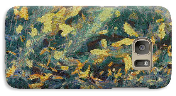 Galaxy Case featuring the painting As The Wind Blows by Joe Misrasi