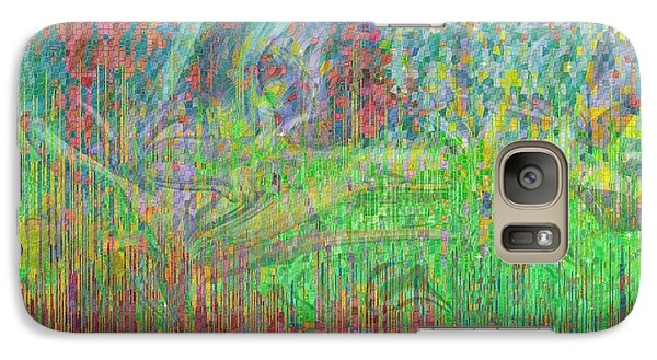 Galaxy Case featuring the photograph As The Wind Blows by Kathie Chicoine
