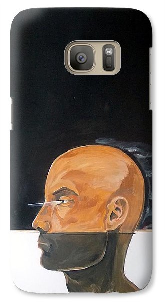 Galaxy Case featuring the painting As Vapor Gutural by Lazaro Hurtado