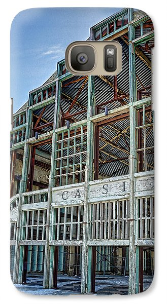 Galaxy Case featuring the photograph Asbury Park Casino And Carousel House by Lee Dos Santos