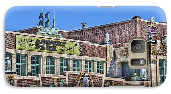Galaxy Case featuring the photograph Asbury Park Convention Hall And Paramount Theatre  by Lee Dos Santos