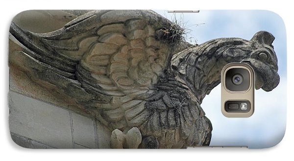 Galaxy Case featuring the photograph Ascension Gargoyle by Dodie Ulery