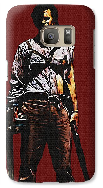 Galaxy Case featuring the painting Ash by Jeff DOttavio