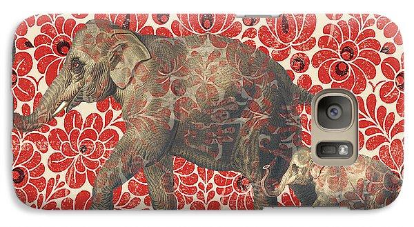 Asian Elephant-jp2185 Galaxy S7 Case