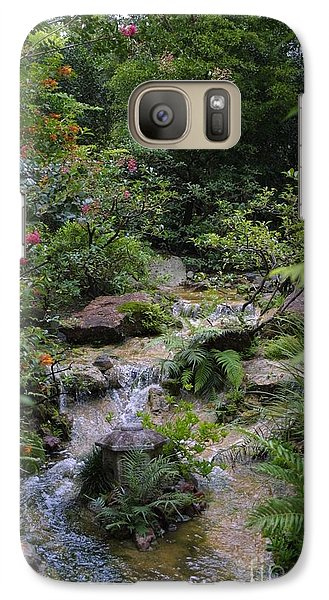 Galaxy Case featuring the photograph Asian Garden by Dodie Ulery