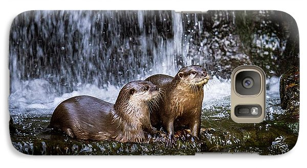 Asian Small-clawed Otters Galaxy S7 Case