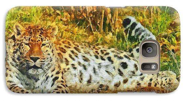 Asian Snow Leopard Galaxy S7 Case