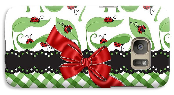 Asiatic Ladybugs  Galaxy S7 Case by Debra  Miller