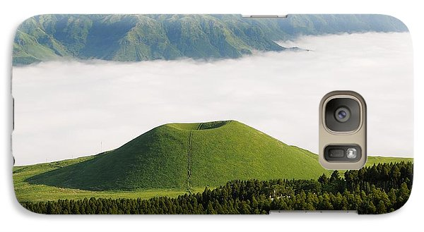 Galaxy Case featuring the photograph Aso Komezuka Sea Of Clouds Cloud Kumamoto Japan by Paul Fearn