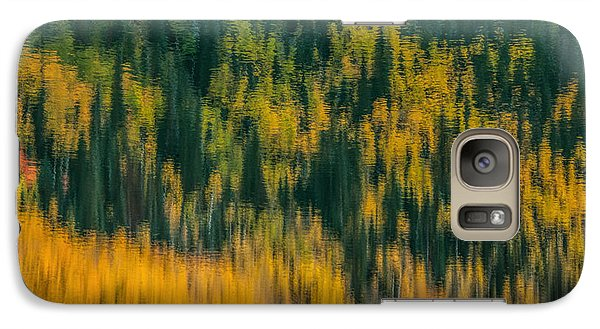 Galaxy Case featuring the photograph Aspen Abstract by Ken Smith