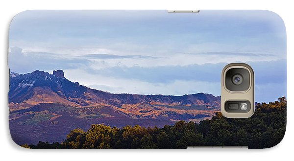 Galaxy Case featuring the photograph Aspen Glow Two by Eric Rundle