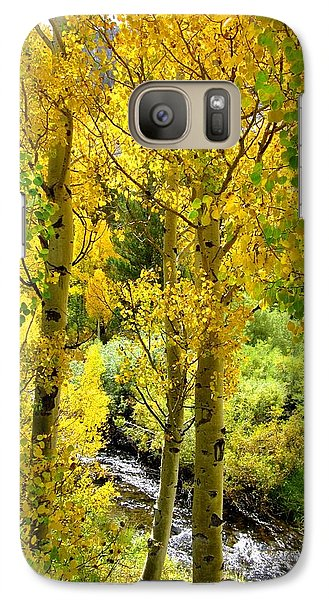 Galaxy Case featuring the photograph Aspen Gold by Marilyn Diaz