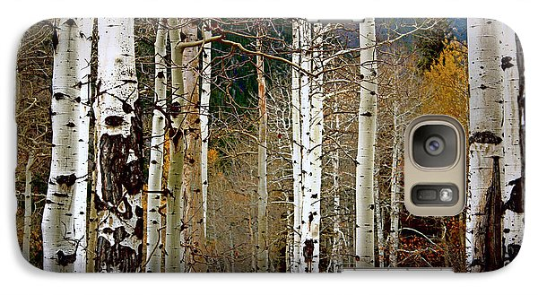 Galaxy Case featuring the photograph Aspen In The Rockies by Lynn Sprowl