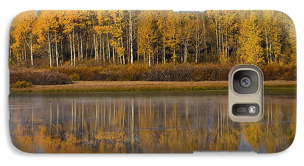 Galaxy Case featuring the photograph Aspen Reflection by Sonya Lang