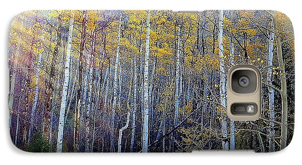Galaxy S7 Case featuring the photograph Aspen Sunset by Karen Shackles