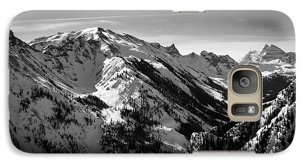 Galaxy Case featuring the photograph Aspen Winter by Serge Skiba