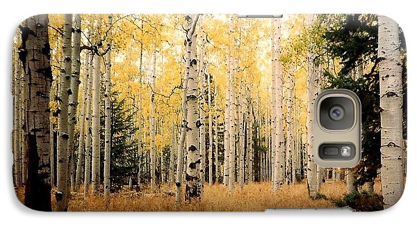 Galaxy Case featuring the photograph Aspens by Fred Wilson