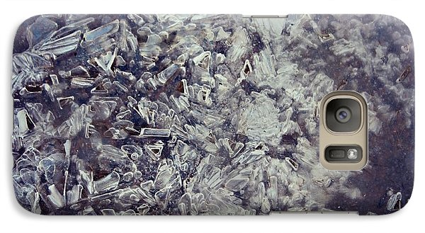Galaxy Case featuring the photograph Asphalt Ice by Candice Trimble