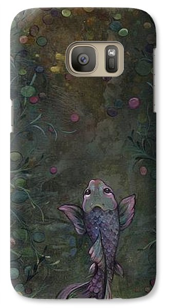 Aspiration Of The Koi Galaxy S7 Case by Shadia Derbyshire