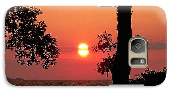 Galaxy Case featuring the photograph Association Island Sunset by Aimee L Maher Photography and Art Visit ALMGallerydotcom