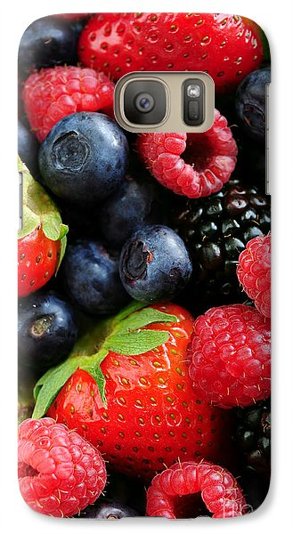 Assorted Fresh Berries Galaxy S7 Case