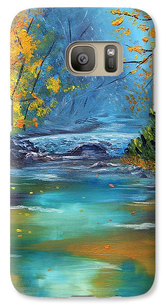 Galaxy Case featuring the painting Assurance by Meaghan Troup