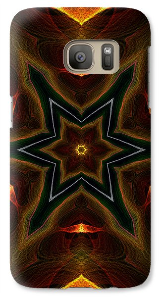 Galaxy Case featuring the digital art Asteroid Impact by Owlspook