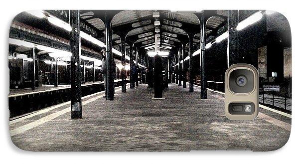 Galaxy Case featuring the photograph Astoria Boulevard by James Aiken