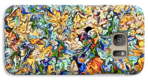 Galaxy Case featuring the digital art Astratto - Abstract 23 by Ze  Di