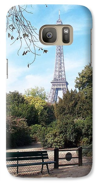 Galaxy Case featuring the photograph At Last by Barbara McDevitt
