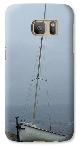 Galaxy Case featuring the photograph At Rest At Meikle Ferry Scotland by Sally Ross