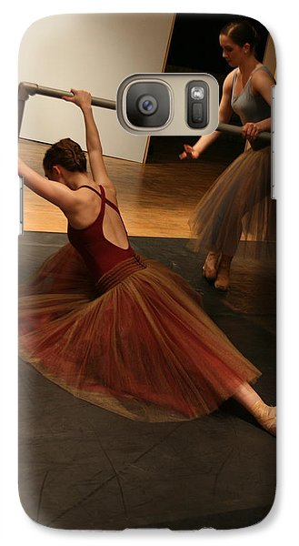 Galaxy Case featuring the photograph At The Barre by Kate Purdy